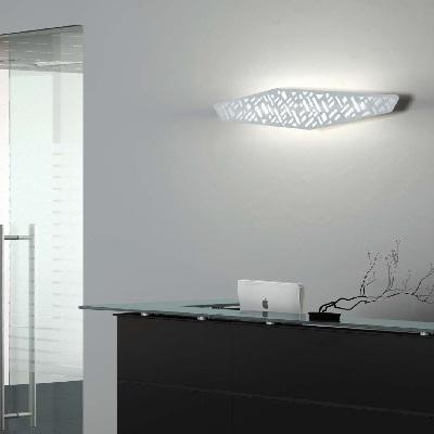 Светильник настенный Florian Exa MAX PARETE / WALL BIANCO (F3.055)