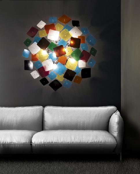 Светильник потолочный FlorianLight KB 80 SOFFITTO-PARETE / CEILING-WALL MULTICOLOR (T3.021)