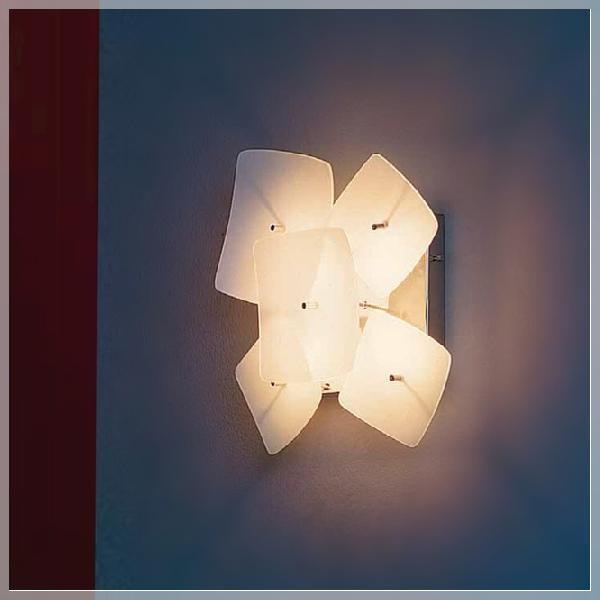 Светильник потолочный FlorianLight KB QUADRO MAX SOFFITTO-PARETE / CEILING-WALL BIANCO (T3.043)