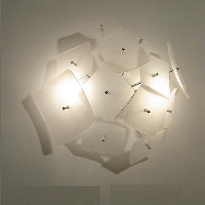 Светильник настенный Florian KB SFERA MAX SOFFITTO-PARETE / CEILING-WALL BIANCO (T3.073)