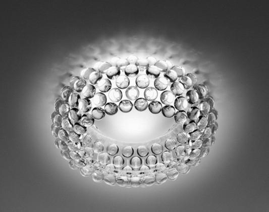 138008 16 Foscarini Светильник потолочный Caboche, прозр шарики, D 50см, Н 19см, 1x120W R7s 118m