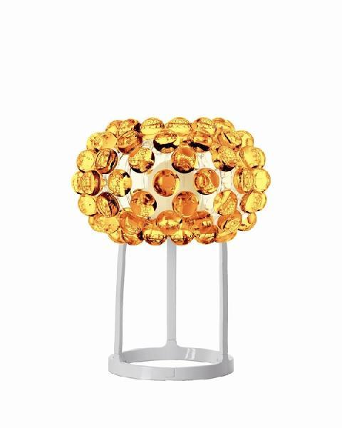 Светильник настольный Foscarini CABOCHE PICCOLA TAVOLO GIALLO ORO 138012 52