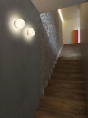 Светильник настенный Foscarini GREGG MEDIA PARETE/SOFFITTO BIANCO 168005 10