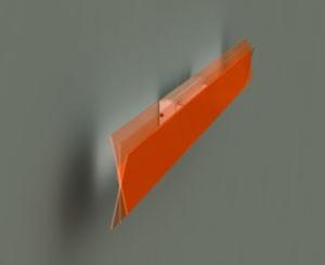 Светильник настенный Foscarini FIELDS 1 PARETE (80W) ARANCIO 1740051 63