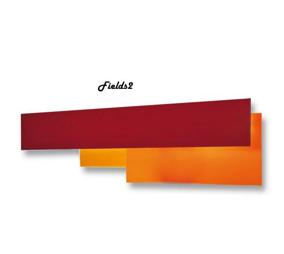 Светильник настенный Foscarini FIELDS 2 PARETE (54W) ARANCIO 1740052 63