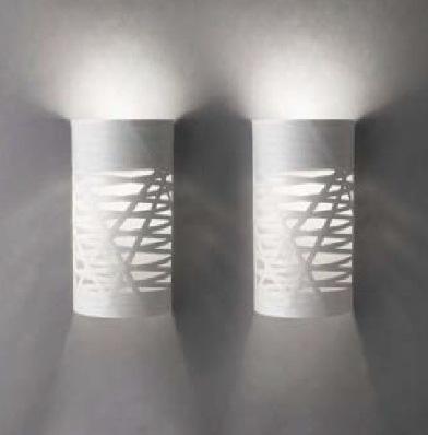 Светильник настенный Foscarini TRESS PICCOLA PARETE BIANCO 1820052 10