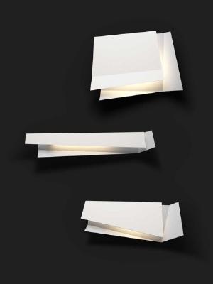 Светильник настенный Foscarini FLAP 1 PARETE BIANCO 1930051 10