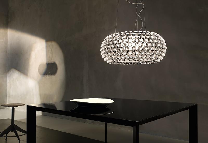 Светильник подвесной Foscarini Caboche grande sospensione trasparente