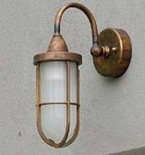 Светильник уличный Imas 36067/A aged brass frame