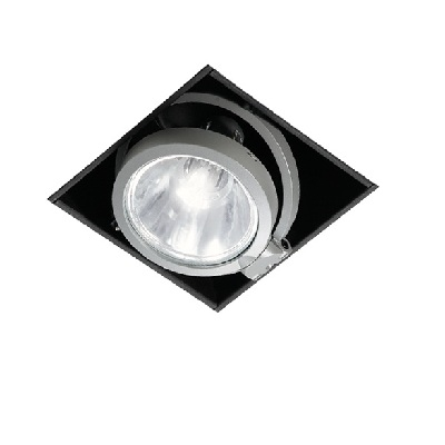 Светильник встраиваемый Intra Lighting 3112131005 HUNTER SPOT RI1 1x70W HIT-CRI 30 grad G8.5