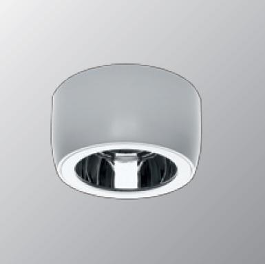 Светильник потолочный Intra Lighting 4831011260 NITOR C-OL 1x26W TC-D G24d-3