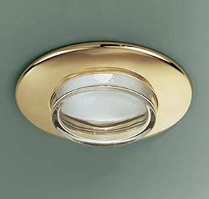 Светильник встраиваемый Itre SD 505 dorato/cristallo GU5.3