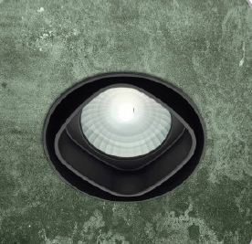 Светильник встраиваемый Itre SD 401 nero