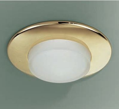 Светильник встраиваемый Itre SD 505 dorato/cristallo satinato G9