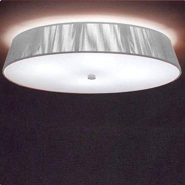 0102052363301 Leucos Studio светильник потолочный Lilith PL, х/б нити серебряного цвета+сати