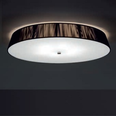 0102052365001 Leucos Studio светильник потолочный Lilith PL40, хлопчатобумажные нити в цвете коф
