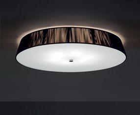 0102052365002 Leucos Studio светильник потолочный Lilith PL55, хлопчатобумажные нити в цвете коф