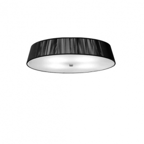0102073363802 Leucos Studio светильник потолочный LILITH PL70, х/б нити черного цвета+сатин