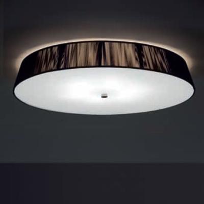 0102073365002 Leucos Studio светильник потолочный Lilith PL70, хлопчатобумажная нить в цвете мок