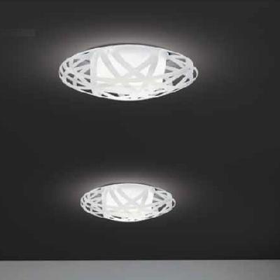 0104049363601 Leucos Studio бра/светильник потолочный X-RAY P-PL35, гравированный пластик матери