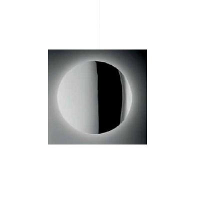 0104121363332 Leucos Studio бра/потолочный светильник SOLE NERO P-PL 40, зеркало, D38см, 1х22W 2