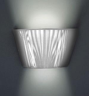 0105052053301 Leucos Studio бра Lilith P, хлопчатобумажные нити в цвете серебро, размер 36х13х19