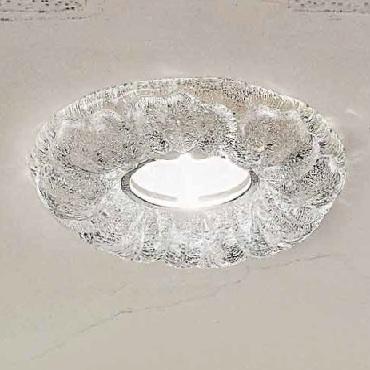 0201310363507 Leucos Modo Светильник встраиваемый SIRIO F 1х50W D16 H3 белый/кристальный с обраб