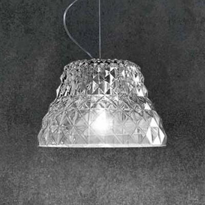 0203003013402 Leucos Modo Светильник подвесной Atelier S, хрусталь, диам. 32 см, выс.макс. 180 с