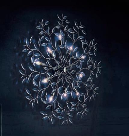 0204280013401 Leucos Modo Бра/светильник потолочный Astree P PL10, хрусталь, диам 130см, 10x40W
