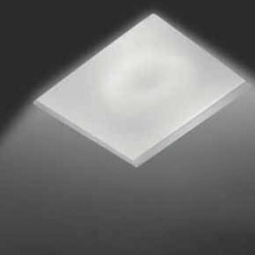 0301181360007 Leucos Studio встраиваемый потолоч свет-ник SD81N, 11,5х11,5см, 1х50W GU5,3, белый
