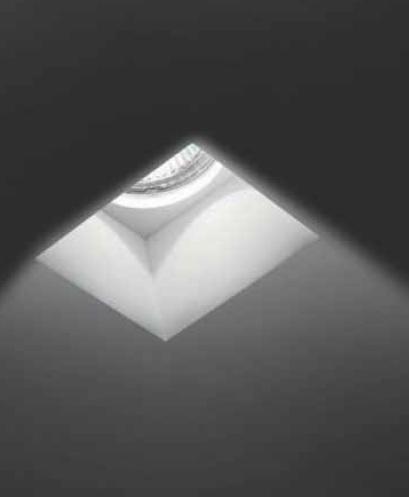 0301181363507 Leucos Studio встраиваемый светильник встраиваемый SD 081V N, 11,5х12см, 1х50W GU5