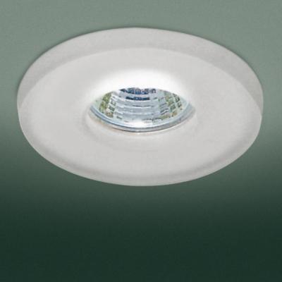 0301188363507 Leucos Studio встраиваемый потолоч свет-ник SD810, прозрач стекло с мат отделкой,