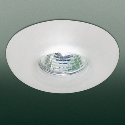 0301191363511 Leucos Studio встраиваемый потолоч свет-ник SD833, прозрачное стекло с мат отделко