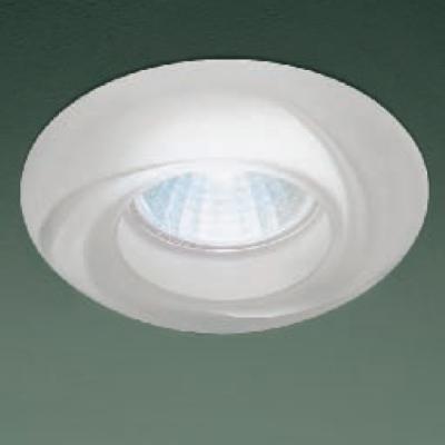 0301197363507 Leucos Studio встраиваемый потолоч свет-ник SD874, прозрачное стекло с мат отделко