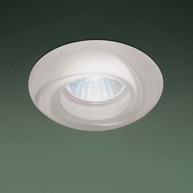 0301197363511 Leucos Studio встраиваемый потолоч свет-ник SD874, прозрачное стекло с мат отделко