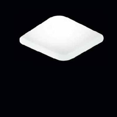 0301403363529 Leucos Studio светильник потолочный встраиваемый SD088V, белый, 17,5/24см, 2х26/32