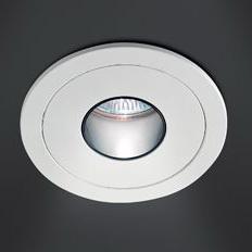 0301405360007 Leucos Studio светильник встраиваемый SD-010 INCASSO OTTICA TONDA GU5,3 BIANCO