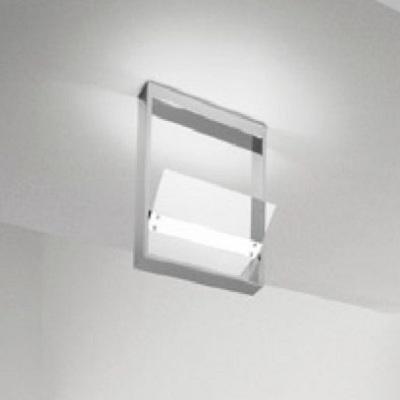 0302315013405 Leucos Studio потолочный свет-ник Ala, прозрачное стекло, 25x36cм, 1x200W R7s 114м