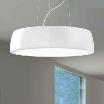 0303238363049 Leucos Studio AXEL 60 S LED 36W DUAL INSIDE BIANCO OPACO