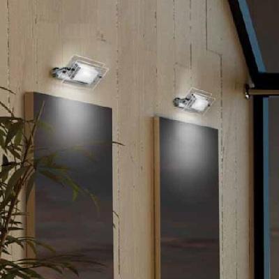 0304206053509 Leucos Studio бра/свет-ник потолочный Trecentosessantagradi 120, прозрач частично