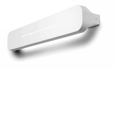 0305126525220 Leucos Studio бра Loft medium, 62,5х9,7х8,5см, 2x24W G5/T5, металл покрытый белым