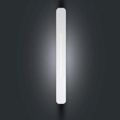 0305127525220 Leucos Studio бра Loft large, 92,8х9,7х8,5см, 2x39W G5/T5, металл покрытый белым б