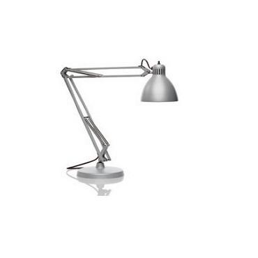 0306059370001 Leucos Studio Лампа настольная JJ Junior, 16х67см, 1х40W E14, серый металл