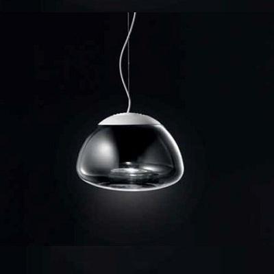 0403126363449 Leucos Studio Светильник подвесной Aria S36, хрусталь, диам. 36см, выс. 180см, 2x1