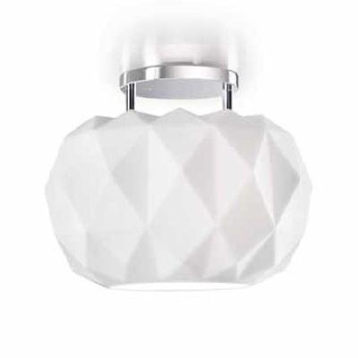 0403283013604 Leucos Idea светильник подвесной Deluxe 35 S, белое стекло, D 35см, H 120см, 1x200