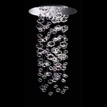 0403285083412 Leucos Modo светильник потолочный Ether 150 S, прозрачное стекло, 100х143, 4x75W G