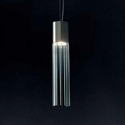 0403311043410 Leucos Modo светильник подвесной Reed S135, хрусталь, D13.5см, H13.5/190см, GU10 1