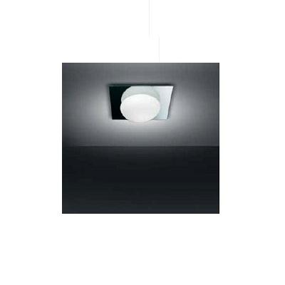 0404045363302 Leucos Studio бра/потолочный светильник Gio 40 P PL, зеркало/мат.стекло, 40x40x16,