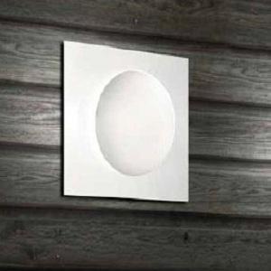 0404045364102 Leucos Studio Светильник настенно-потолочный Gio 40 P-PL, белое/оранжевое стекло,