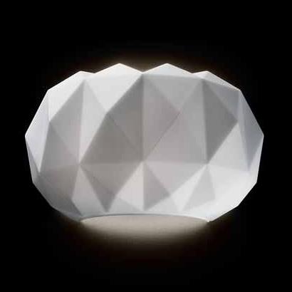 0405283363605 Leucos Idea Светильник настенный Deluxe 35 P, белый, раз. 34х17х20см, 1x150W R7s 1